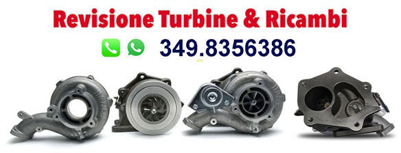 Turbine auto nuove e revisionate Logo